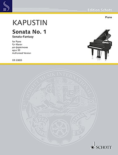 Sonata No. 1, Op. 39 (Sonata-Fantasy) ebook
