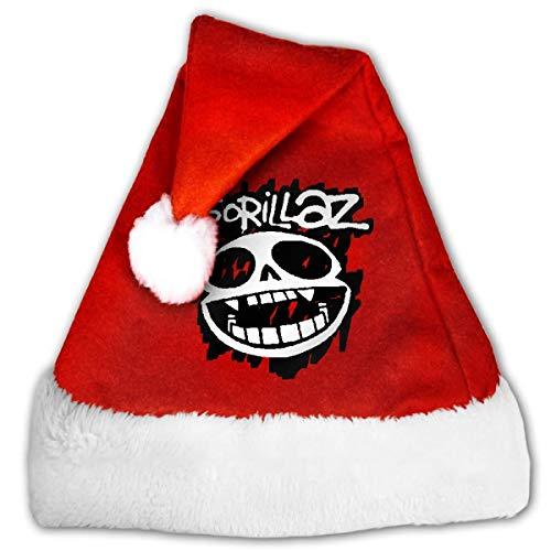 Gorillaz Adult Unisex Kids Christmas Hat Xmas Santa