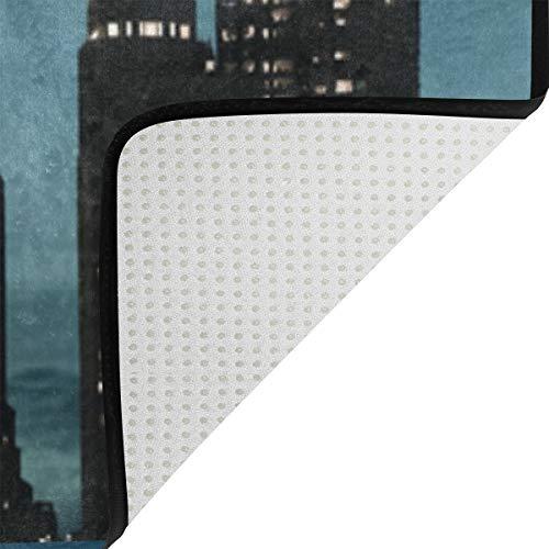 20 Salón Muy 1 X De 31 Área Poliéster El Hogar City Decoración Felpudo Inch Los Suave Para Montoj Alfombra Del Al Alfombrilla Dormitorio Chicago Desgaste Zapatos Resistente wPzqB44gt