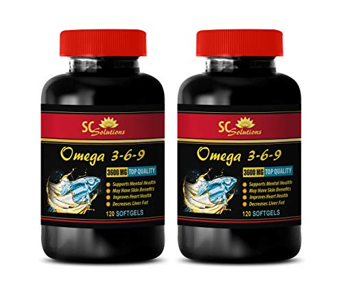 (Immune System Support for Women - Omega 3 6 9 3600MG - TOP Quality - Omega 3 6 9 Complex - 2 Bottles 240)