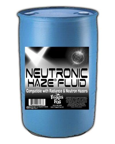 (Froggys Neutronic Haze Fluid - Specially Formulated Haze Liquid - 55 Gallon Drum / 208.18 Liters)