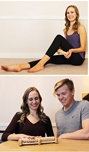 (New) TheraFlow Foot Massager Roller. Plantar Fasciitis, Trigger Point Therapy – Acupressure Reflexology Tool for Foot…