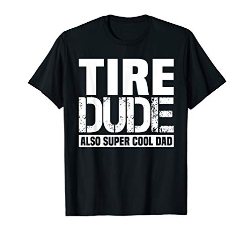 Mens Tire Dude funny T-Shirt Car Mechanic Costume Gift