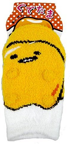 French Mime Costume Ideas (Gudetama ear with Room socks 13 ~ 18cm ZZM525 / socks From Japan New)