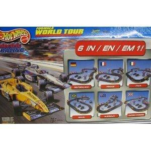 Hot Wheels 37647 Formula Word Tour HO Slot Car Electric Racing Set