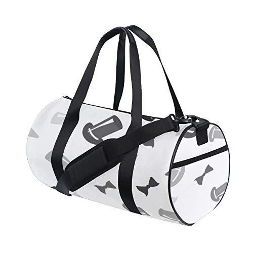 Bow Daily Fashion Decoration Custom Multi Lightweight Large Yoga Gym Totes Handbag Travel Canvas Duffel Bags With Shoulder Crossbody Fitness Sport Luggage For Boy Girl Men Women