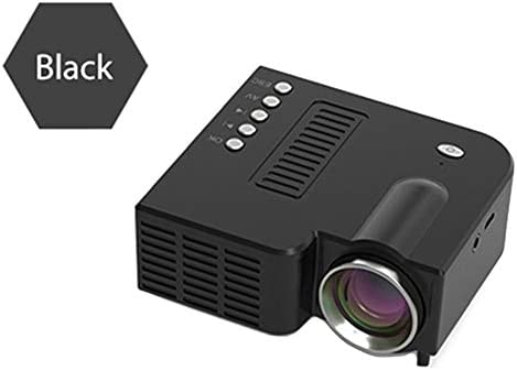 Hemistin Proyector De Video Portátil UC28C Proyector De Video LED ...