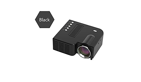 Hemistin Proyector De Video Portátil UC28C Proyector De Video LED ...