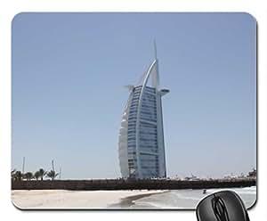 5 stars hotel Burj el Arab in Dubai Mouse Pad, Mousepad (Skyscrapers Mouse Pad)