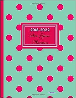 2018 - 2022 Curcuma Five Year Planner: Agenda Planner for ...