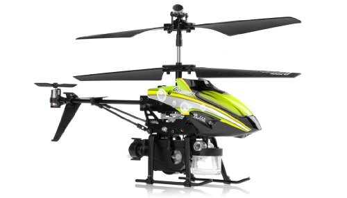 WL Toys V757 Bubble Master Co-Axial 3.5 Channel RC Helicopter (Green) - http://coolthings.us