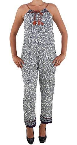 Damen Overall Jumpsuit Hosenanzug Sommer Hose Strandhose Playsuit Einteiler  Typ-BR S-M 36- 8d3b8090c7