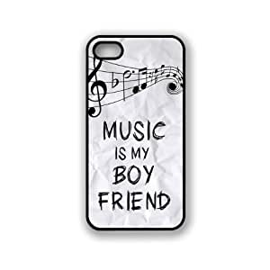 Music Is My Boyfriend Hipster Quote iphone 5c Case Fits iphone 5c- Designer T...