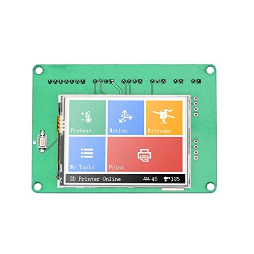 Zamtac JZ-TS24 2.4 Inch Color Touch Screen Display Board 320240px for 3D Printer high Speed Printing Free Computer Tuning