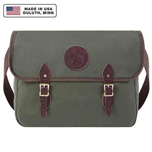 - Duluth Pack Standard Book Bag, Olive Drab, 11 x 16 x 4-Inch