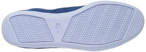 Lacoste Men's Court-Minimal Sport 416 1 SPM Fashion Sneaker, Dark Blue, 12 M US