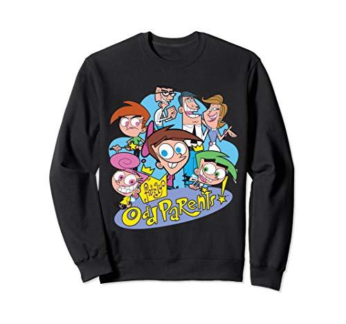 Nickelodeon The Fairly Oddparents Cast Sweatshirt -