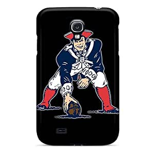 Scratch Protection Hard Phone Covers For Samsung Galaxy S4 With Allow Personal Design High-definition New England Patriots Pictures AlainTanielian