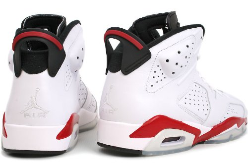 100% authentic 2466d 30380 Amazon.com   Nike Air Jordan 6 Retro Sakuragi Hanamichi (384664-102) White  Red   Basketball