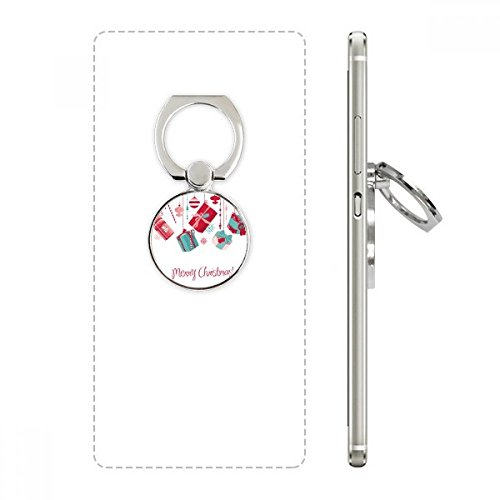 Christmas Gift Snowflake Bulb Crutch Pattern Cell Phone Ring Stand Holder Bracket Universal Smartphones Support Gift