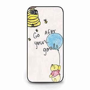 Stylish Design Custom iPhone 5c carcasa de telefono,Winnie Bear Compact Durable Delicate Funda Cover