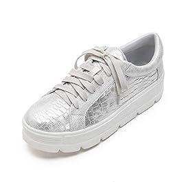 MACKIN J 334-2 Women's Platform Fashion Sneakers Lace Up Lightweight Casual Low Top Shoes