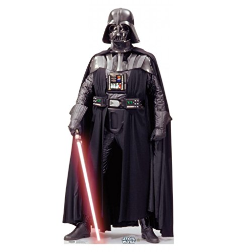 Darth Vader - Star Wars Classics (IV - VI) - Advanced Graphics Life Size Cardboard Standup (Princess Leia Costume Ideas)
