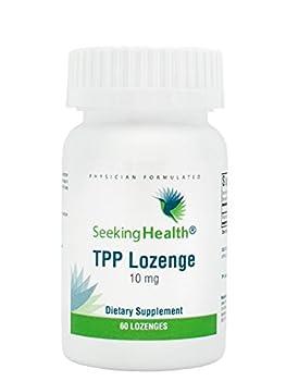 TPP Lozenge | 10 mg Active Thiamine | 60 Lozenges | Seeking Health