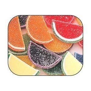Boston Fruit Slices Assorted Individually Wrapped Candies 5 Pound Value Box