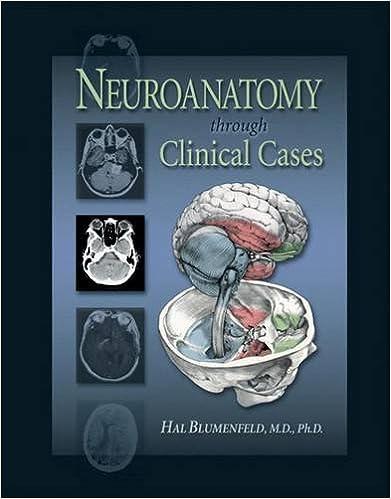 Neuroanatomy BlumenfeldNeuroanatomy Through Clinical Cases 1st Edition