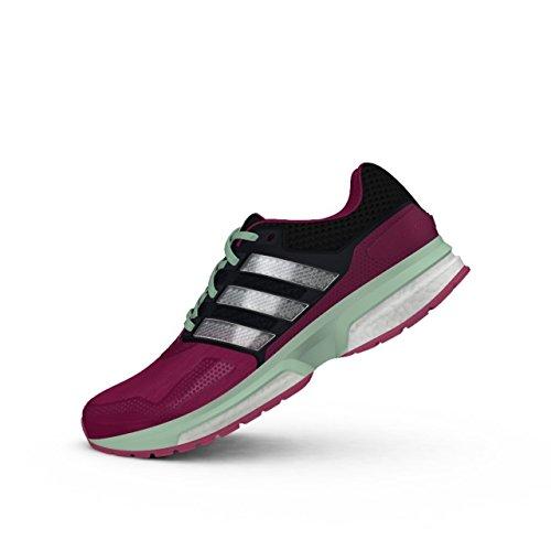 adidas Response Boost 2 Chaussures de Course Pour Femme - - Pink/Schwarz, 6.5 UK - 40 EU