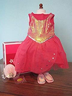 NEW American Girl Isabelle/'s Performance Outfit/'s Tutu Tiara /& Velvet Wristband