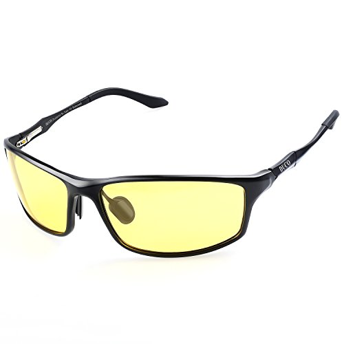 Duco Night vision Driving Glasses For Headlight Polarized Driver Glasses - Glasses Fit Should How