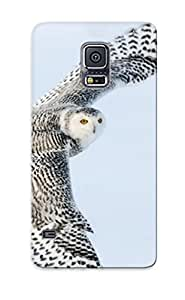 Hot Snap-on Snowy Owl Hard Cover Case/ Protective Case For Galaxy S5 by icecream design