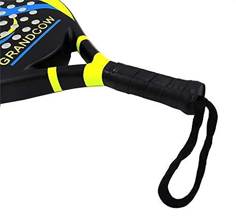 GRANDCOW Pala de pádel de Tenis Pro de Fibra de Carbono Power Lite ...
