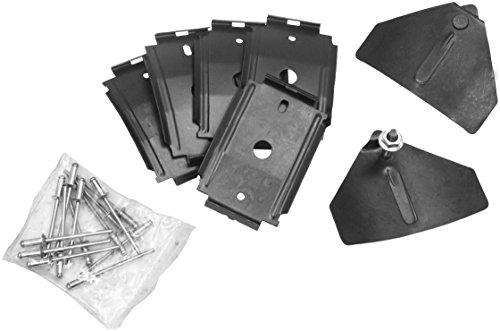 Mustang Rocker Molding Clip Kit RH or LH 1964 1/2 - 1966 (Rocker Mustang Kit Molding)