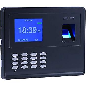 Amazon com : Antner Fingerprint Time Attendance Clock