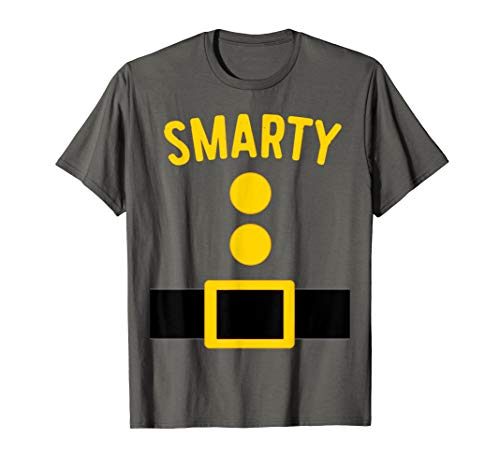 Smarty Dwarf Costume T-Shirt Funny Halloween -