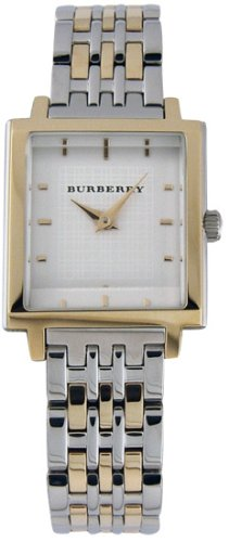 Ladies burberry two-tone stainless steel watch # BU2017