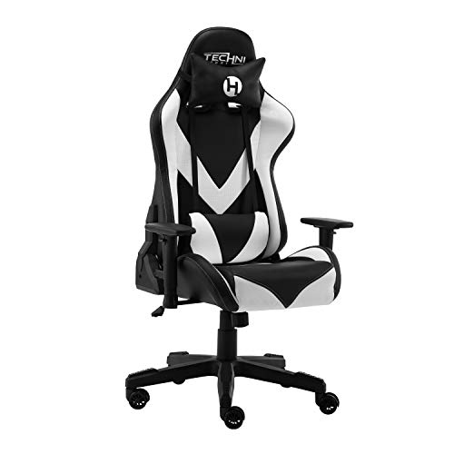 TECHNI SPORT Gaming Chair Collection - Techni Sport TS-92 Office-PC Gaming Chair White - Gaming Chair - High Chair - (TS92, White) Uncategorized