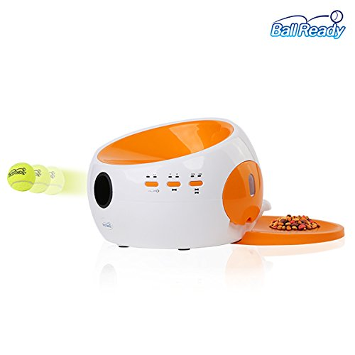 BallReady Automatic Ball Launcher and Food Dispenser Smart pet care service Dog Toy Dog Trainning by BallReady