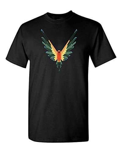 Maverick Bird Logo Logan Paul Custom T Shirt Christmas T-Shirt Gift t Shirt (S, - Maverick Free Men