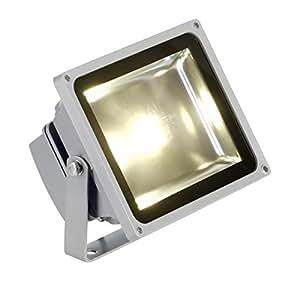 Slv 231112 LED Outdoor Beam, Silvergrey, 30W, Warm White, 130°