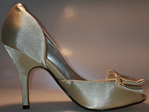Toe Peep mujeres W para Gold Hohenlimburg 3 dwrxvq1Ow