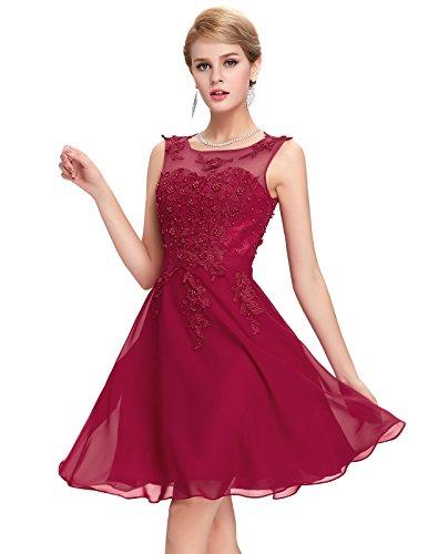 Abito Da Sera Donna GRACE 2 Sera Firmato Maniche Vestito Ck63 KARIN Elegante Elegante Vestito da Donna Senza 0vvwqUWF1P