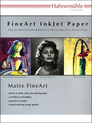 Hahnemuhle William Turner Matt Fine Art Paper - 190 gsm (17 x 22 In. - 25 Sheet by Hahnemuhle