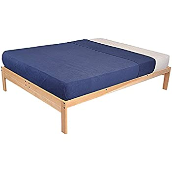 Amazon Com Ikea Tarva Queen Size Bed Frame Solid Pine