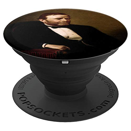 Civil War President Ulysses S Grant Fifty Dollar Bill Gift - PopSockets Grip and Stand for Phones and Tablets