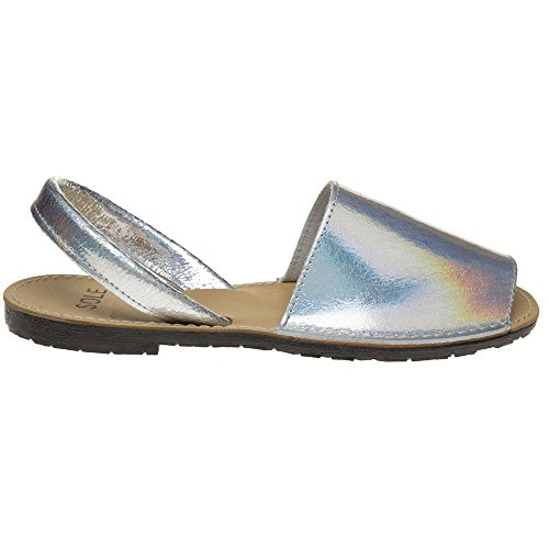 Sandals Sole Toucan Sole Sandals Holographic Sole Metallic Metallic Holographic Toucan 06xfq