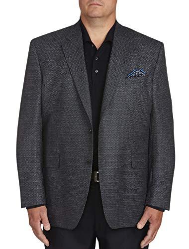 Jack Victor Big and Tall Deco Textured Sport Coat